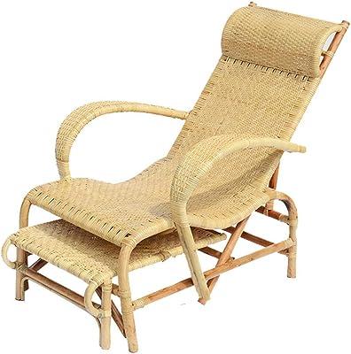 Amazon.com: SUN HUIJIE Wicker Chair Backrest Chair Hotel Furniture ...