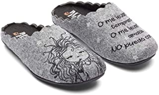 Goalbase Slippers Wake Up in Grigio