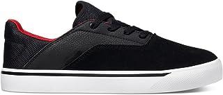 DC Skateboard Shoes WALLON S Black/Dark Gray/Athletic RED