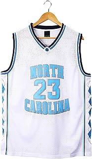 Jordan # 23 North Carolina Basketball Jersey para Hombres, Camisetas de Baloncesto Ropa Tank Top Training Suit Vest Chaqueta Deportiva (S-3XL)