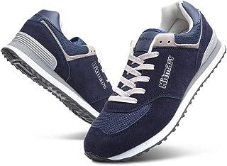 Sneaker Uomo Donna Casual Leggere Scarpe da Ginnastica Basse Sportive Running Classico Nero Blu Beige Rosso Taglia 36-48