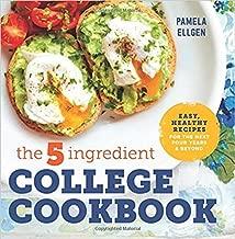 [By Pamela Ellgen ] The 5-Ingredient College Cookbook (Paperback)【2018】 by Pamela Ellgen (Author) (Paperback)