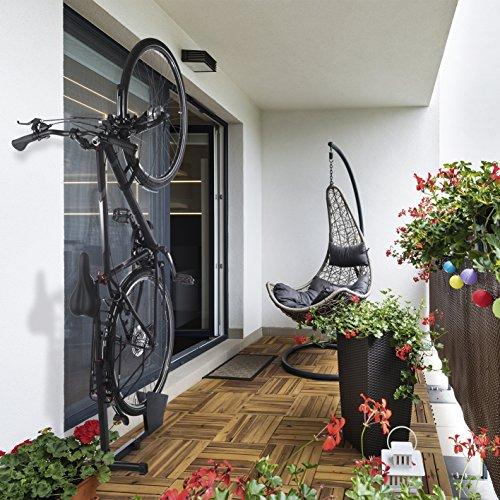 EASYmaxx Hinterradständer Fahrradständer für Wohnung und Keller aus Stahl - 6