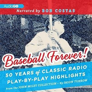 Baseball Forever! audiobook cover art