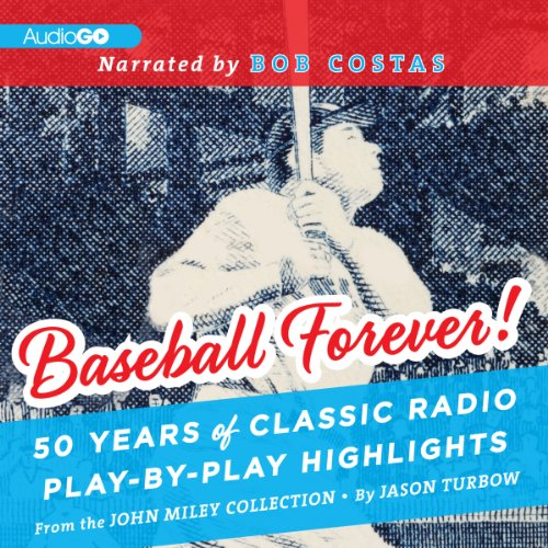 Baseball Forever! audiobook cover art