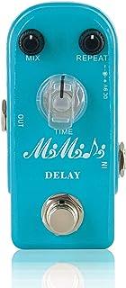 MIMIDI Delay Guitar Effect Pedal Analog Mini Delay Pedal True Bypass (306 Delay)