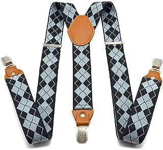 TENDYCOCO Elastic Adjustable Suspenders Bowtie Set for Children Baby Boys Kids 2Pcs