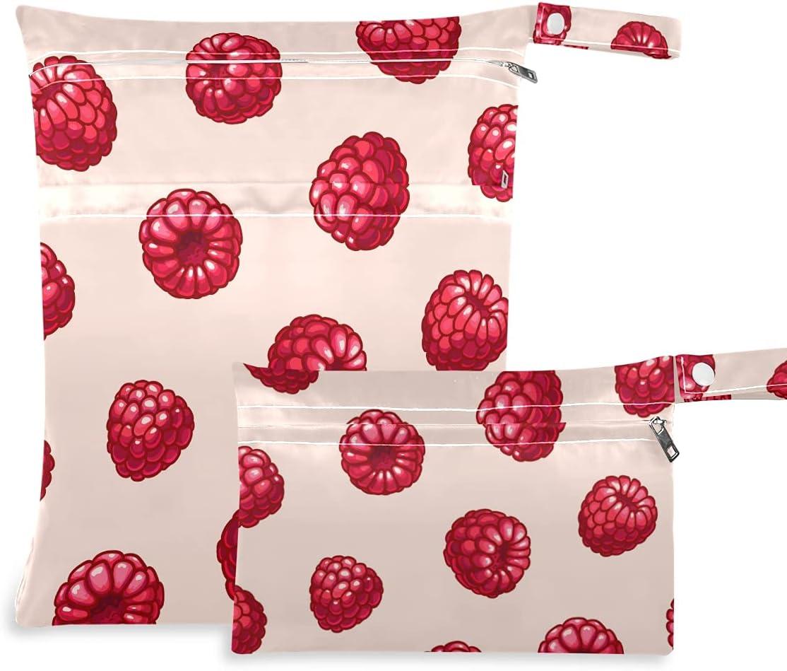 OTVEE Summer Fruits NEW Award-winning store Red Berries Wet Re Pcs Bag Waterproof Dry 2
