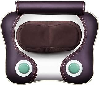 TBAN Multifunctional Cervical Massager Cervical Vertebra Massage Cushion Pillow Neck Waist Back Electric Heated Massage Pillow for Office, Home and Car