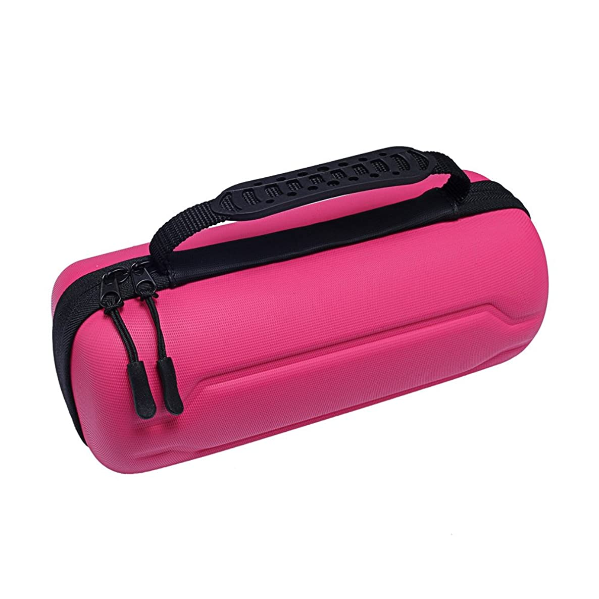 Esimen 2018 Design Hard Case for Case For Amazon All-new Echo (2nd Generation) - Extra Room for USB Cable and Wall Charger (Pink for New Echo)