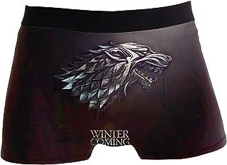 Mens Boxer Briefs Thrones Dragons Funny Stretch Cotton Underpants Sport Trunks Underwear for Guy Men Boys