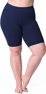 Rainbeau Curves Women's Plus Size Curve Basix Bike Short