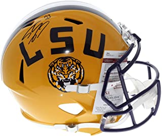 Shaquille O'Neal LSU Tigers Autographed Signed Riddell Full Size Speed Replica Football Helmet - JSA Authentic