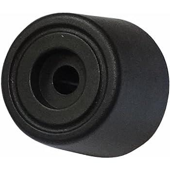 Para atornillar AERZETIX: Patas pies redondos /Ø45mm H:15mm para muebles 20 piezas Negro C42712