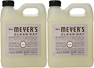mrs meyers glass hand soap