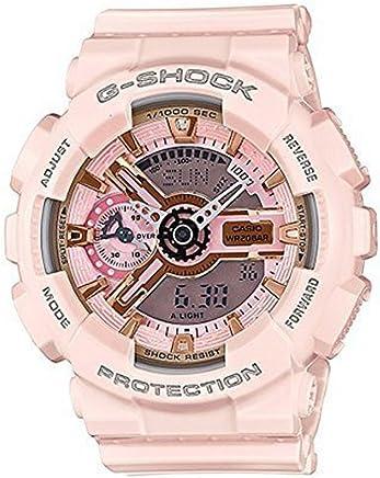 [Casio(カシオ)] 腕時計 G-Shock GMAS110MP-4A1 S Series Analog Digital Pink Watch [並行輸入品]