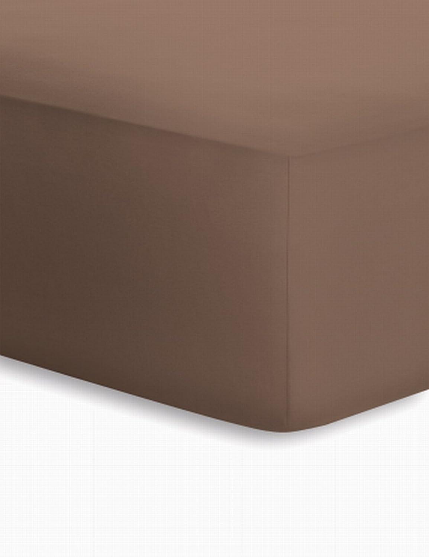 Schlafgut Jersey-Elasthan Boxspring Spannbetttuch Baumwoll-Mischgewebe kakao kakao kakao 220 x 200 cm B004AWDN30 1e7995