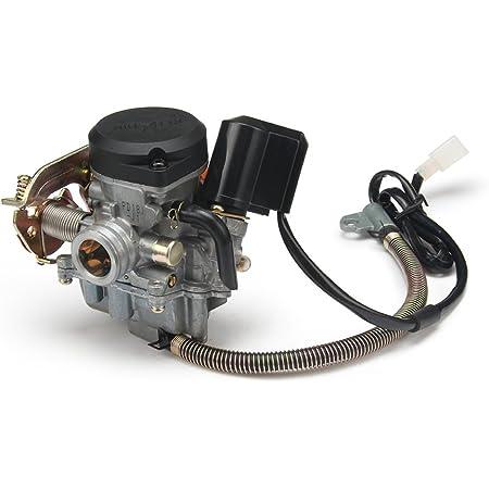 2extreme Standard Vergaser Ansaugstutzen Kompatibel Für Baotian Bt49qt 9 Bt50qt 9 Auto
