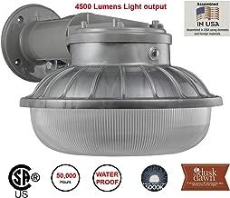 Lights of America 45 Watt Dusk to Dawn LED Down Light (9349E2-GR5)