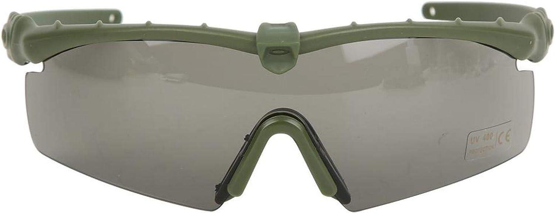 DAUERHAFT Protezione per Gli Occhi Militari Occhiali Tattici di Lavorazione squisita Protezione per Gli Occhi da tiro