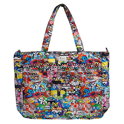 Price comparison product image Ju-Ju-Be Tokidoki Collection Super Be Zippered Tote Diaper Bag,  Sushi Cars