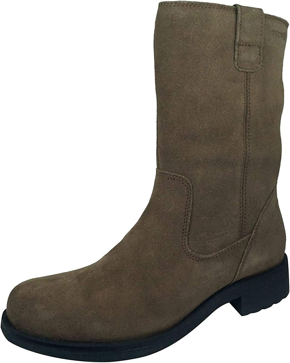 Geox D Rawelle B Womens Suede Mid Boots