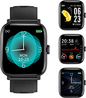 RUNDOING 1.54 inch Full Touch Screen Smart Watch for...