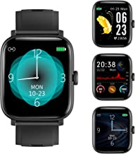 RUNDOING 1.54 inch Full Touch Screen Smart Watch for Android iOS Phones IP68 Waterproof,Fitness...