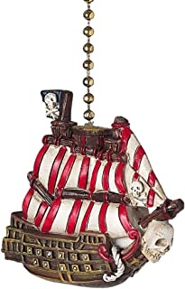 Clementine 335 Pirate Ship Fan Pull