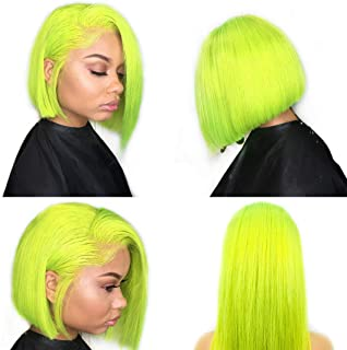 Best lime green frontal wig Reviews