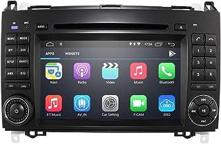 Android 10 Radio 7 Zoll DVD Player Navigator für Mercedes Benz A Klasse W169 B Klasse W245 V Klasse W639 W906 Sprinter 2500/3000 Unterstützung Radio RDS Bluetooth Mirror Link WiFi Lenkradsteuerung