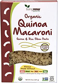 NOW Foods Quinoa Macaroni Pasta, 8-Ounce (Pack of 12)