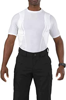 Tactical Men's Holster Shirt, Polyester/Spandex Blend, Strengthened Seams, Style 40011