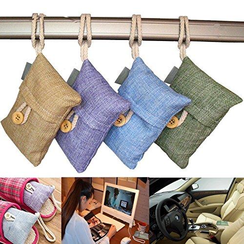 ALLUCKY Ambientador de bambú con carbón Activo, purificador de Aire, purificador de...
