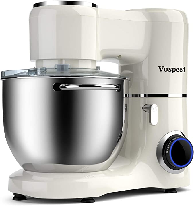 Impastatrice planetaria 1500w 8litri vospeed robot da cucina con ciotola di acciaio inossidabile SM-1550