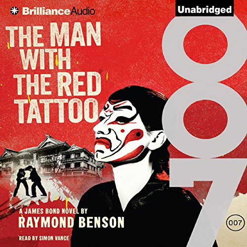 The Man with the Red Tattoo audiobook cover art