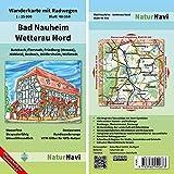 Bad Nauheim - Wetterau Nord: Wanderkarte mit Radwegen, Blatt 48-558, 1 : 25 000, Butzbach, Florstadt, Friedberg (Hessen), Niddatal, Rosbach, ... (NaturNavi Wanderkarte mit Radwegen 1:25 000)