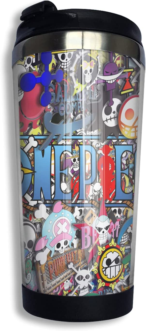One Piece Don't miss the campaign Logo Art Anime Coffee Cup C Print Los Angeles Mall Thermos Funny Mug 3d
