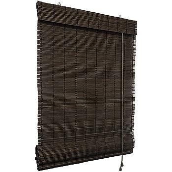 Victoria M. - Persiana Enrollable de bambú para Interiores, tamaño ...
