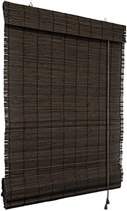 Amazon Co Uk Bamboo Blinds Window Treatments Home