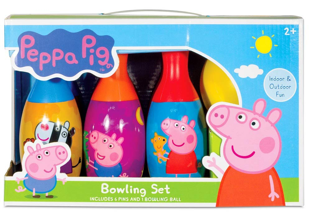 Nickelodeon Peppa Pig Bowling Set