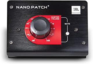 JBL npatch BLK compacto pasivo controlador de volumen