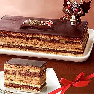 クリスマスケーキ 2019 Xmas チョコレートケーキ クリスマスケーキ 【プレート ヒイラギ付】お取り寄せ 人気 ケーキ スイーツ 黄金のオペラ