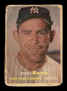 1957 topps yogi berra