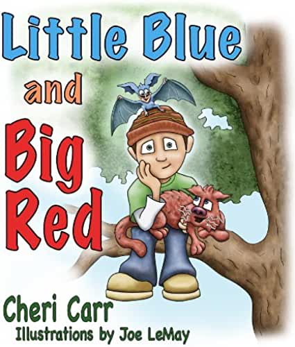 Little Blue and Big Red (English Edition)