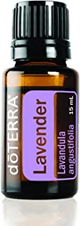 doTERRA - Lavender Essential Oil - Promotes Calm, Relaxation, Peaceful Sleep, Tension Relief, and Soothing of Skin Irritation; for Diffusion, Internal, or Topical Use - 15 mL