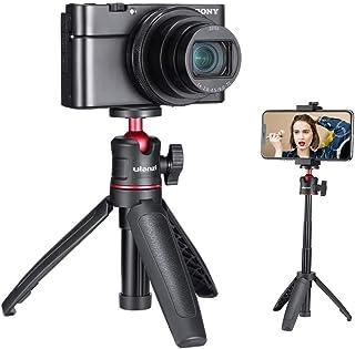 Ulanzi MT-08 ミニ三脚 自撮り棒 3way三脚 卓上三脚 3段伸縮 小型 ライブ三脚 GoPro HERO7、8、9/ZV-1 /OSMO POCKET 1、2/iPhone Samsung Canon Nikon Sonyアクショ...