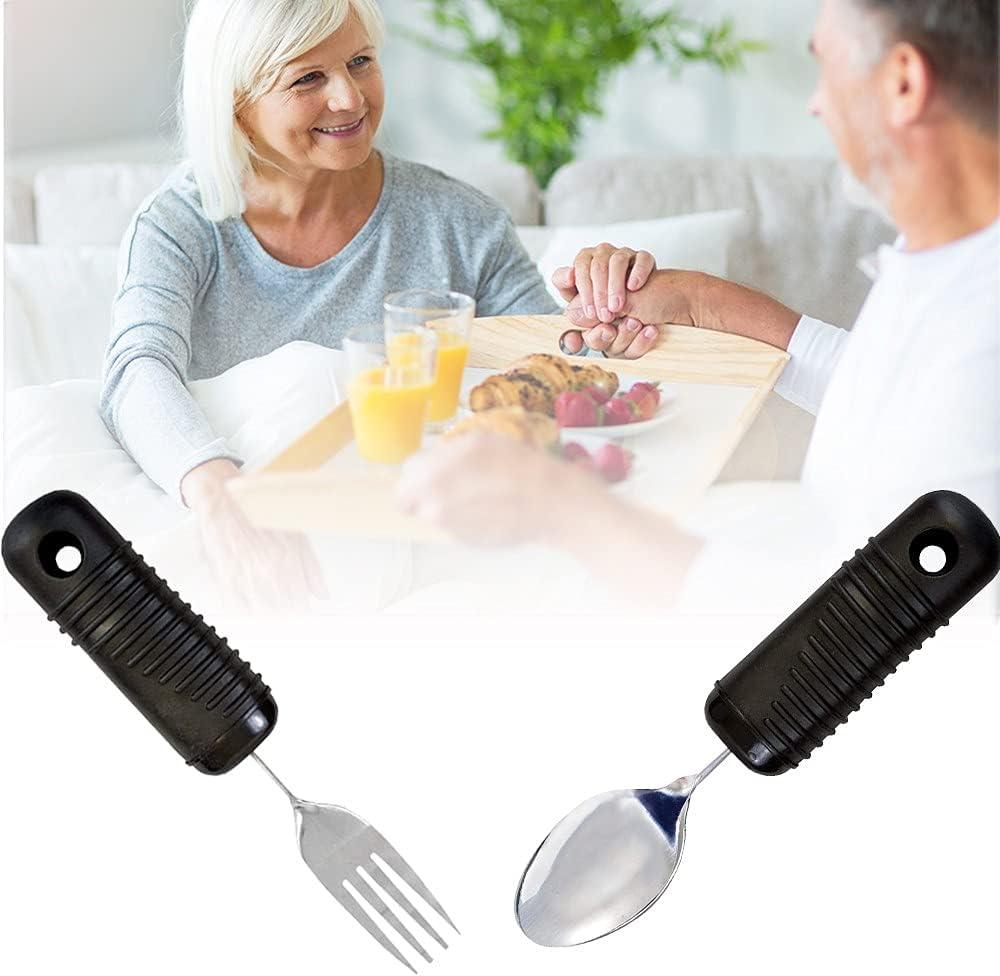 BDXZJ Elderly Auxiliary Tableware Anti-Shake El for Angled Spoon Under New product!! blast sales