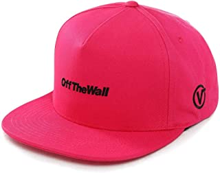 Vans Gorra Off The Wall Distorted Snapback Color Rosa: Amazon.es ...