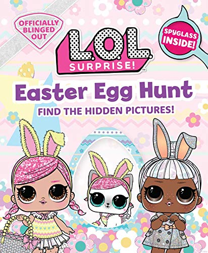 Easter Egg Hunt: L.o.l. Gifts for Girls Aged 5+ Lol Surprise Find the Hidden Pictures Exclusive Spyglass 20 Scenes to Explore